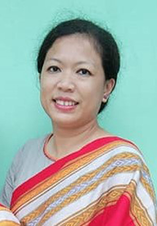 Anzum Banhi Chakma the Assistant General Secretary A renowned development worker, and a popular online innovative entrepreneur.