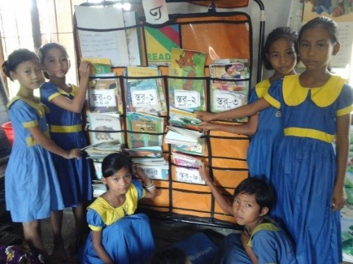 READ book corner has changed children reading habits in Kukichhara Government Primary School.